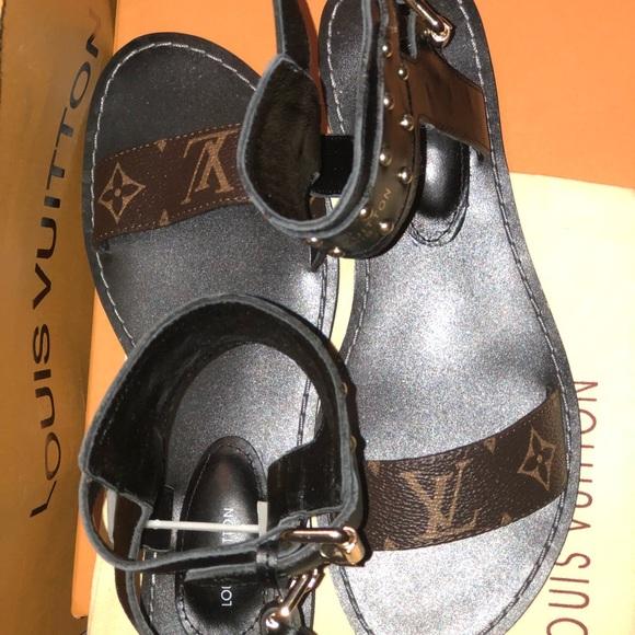 18f9a36e5bd Louis Vuitton Shoes - Louis Vuitton Gladiator Sandals